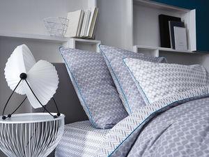BLANC CERISE - peignoir col châle - coton peigné 450 g/m² blanc - Spannbettlaken