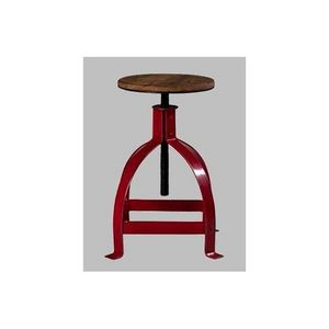 Mathi Design - tabouret industriel d'atelier réglable - Hocker