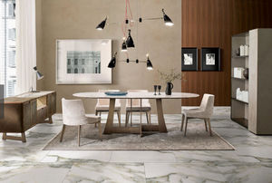 ITALY DREAM DESIGN - mia - Ovaler Esstisch