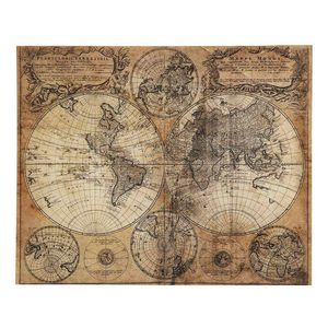 MAISONS DU MONDE - mappemonde 1419881 - Weltkarte