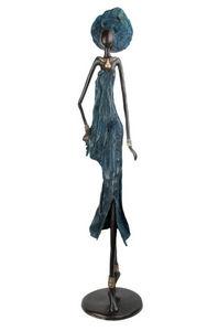 Bronzes d'Afrique - exceptionnal bronze  - Skulptur