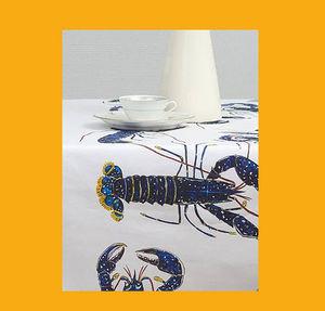Le Minor - homard bleu - Rechteckige Tischdecke