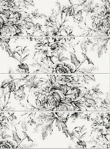 Vives Azulejos y Gres - blanco brillo frunce-4 25x75cm - Wandfliese