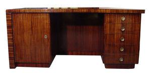 KUNST UND ANTIQUITATEN EHRL - art deco writing table - Kleiner Schreibtisch