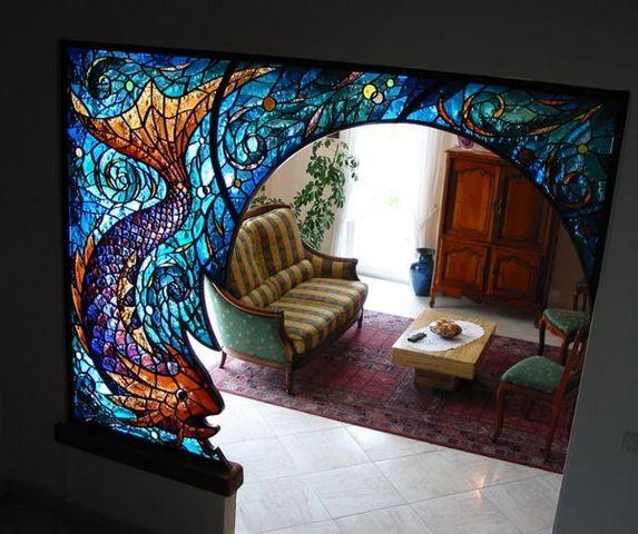 Vitraux-Deniau - Buntglasfenster-Vitraux-Deniau