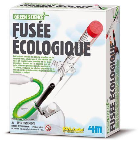 4M - Gesellschaftsspiel-4M-Kit de construction fusée écologique
