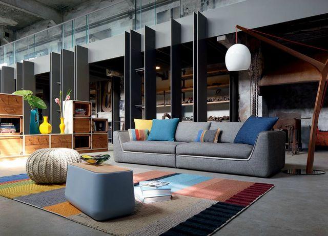 ROCHE BOBOIS - Sofa 3-Sitzer-ROCHE BOBOIS-Attraction