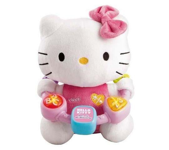 VTECH JOUET - Stofftier-VTECH JOUET-Hello Kitty - mon amie des dcouvertes