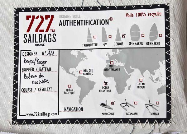 727 SAILBAGS - Außensitzkissen-727 SAILBAGS-Pouf Solo