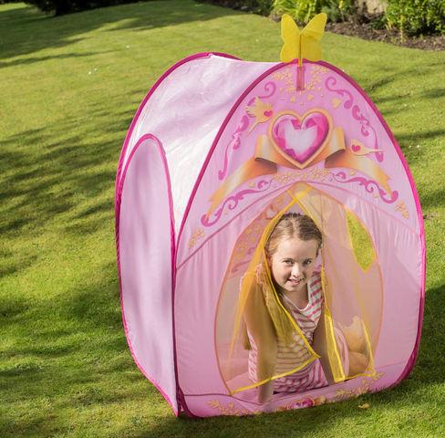 Traditional Garden Games - Kinderzelt-Traditional Garden Games-Tente de jeu Princesse Love 85x85x115cm