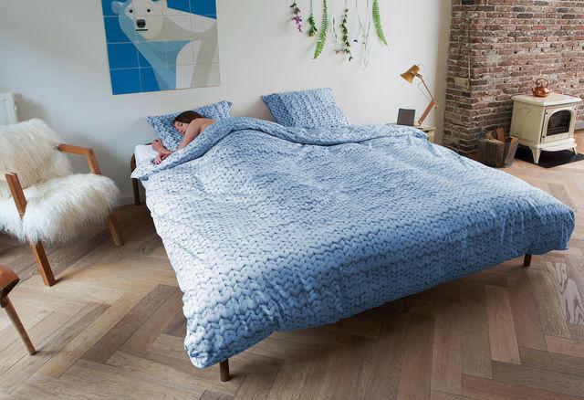 SNURK - Schlafsack-SNURK-Twirre Arctic Blue