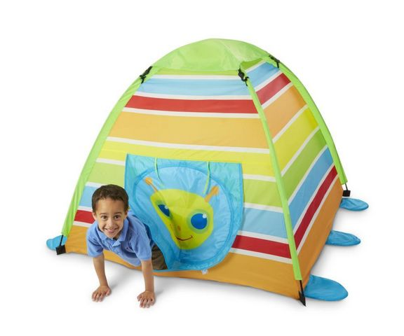Melissa & Doug - Kinderzelt-Melissa & Doug-Tente de camping Sunny Patch Chenille