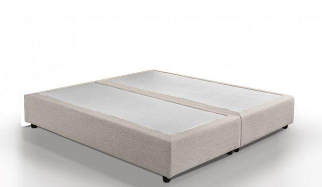 WHITE LABEL - Fester Federkernbettenrost-WHITE LABEL-Sommier double haut de gamme PLAZA  140*190 cm tis