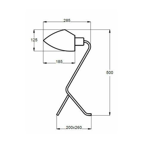 Aluminor - Schreibtischlampe-Aluminor-DJANGO