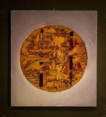 DEZIN-IN - Zeitgenössische Gemälde-DEZIN-IN-OM VINTAGE