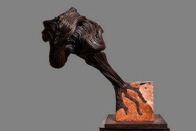 DEZIN-IN - Skulptur-DEZIN-IN-VARIATION SUR LE THEME DU CHELOÏDE ALCHIMIQUE