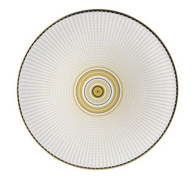 ROYAL CROWN DERBY - Flache Teller-ROYAL CROWN DERBY-Oscillate Ochre--