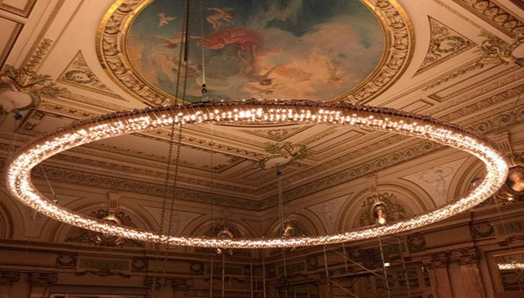 NAJEAN Araña Murano Luminarias suspendidas Iluminación Interior   