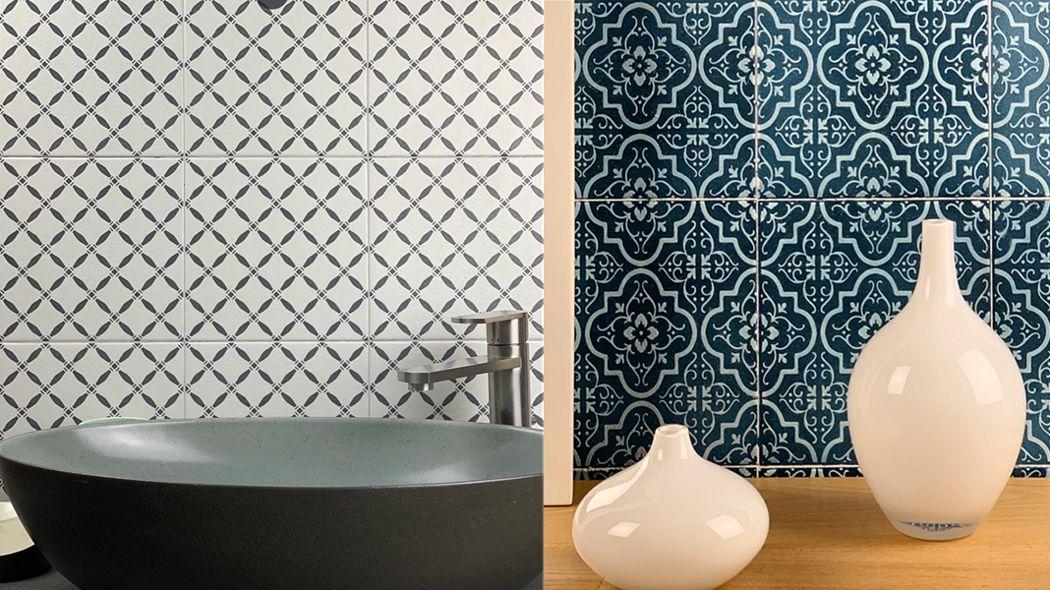 ACQUARIO DUE Azulejos para pared Azulejos para paredes Paredes & Techos  |