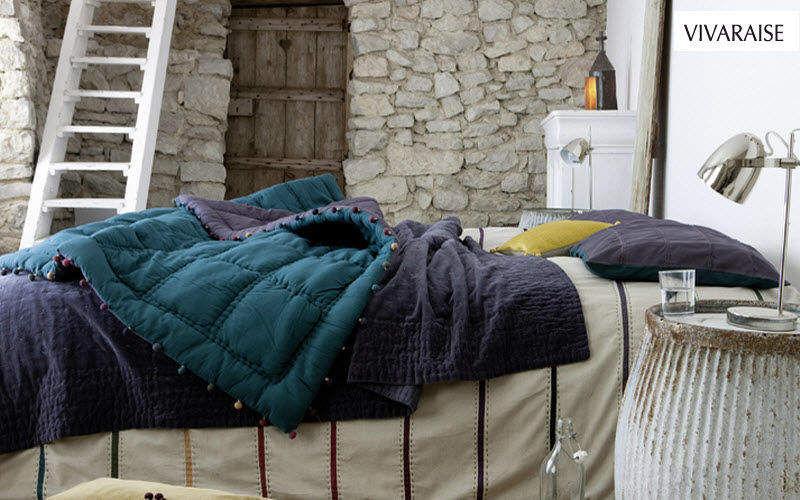 VIVARAISE Cubrecama acolchado provenzal Colchas & plaids Ropa de Casa Dormitorio |