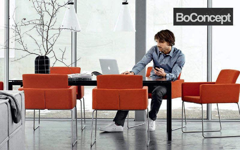 BoConcept France Mesa de reunión Mesas y escritorios Despacho Lugar de trabajo | Design Contemporáneo