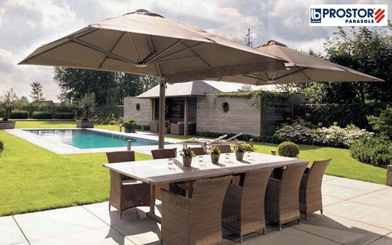 PROSTOR parasols Sombrilla Sombrillas y estructuras tensadas Jardín Mobiliario Terraza | Design Contemporáneo
