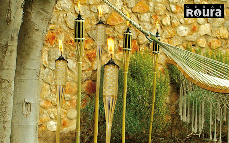 Ceras Roura Antorcha Alumbrado de suelo Iluminación Exterior  |