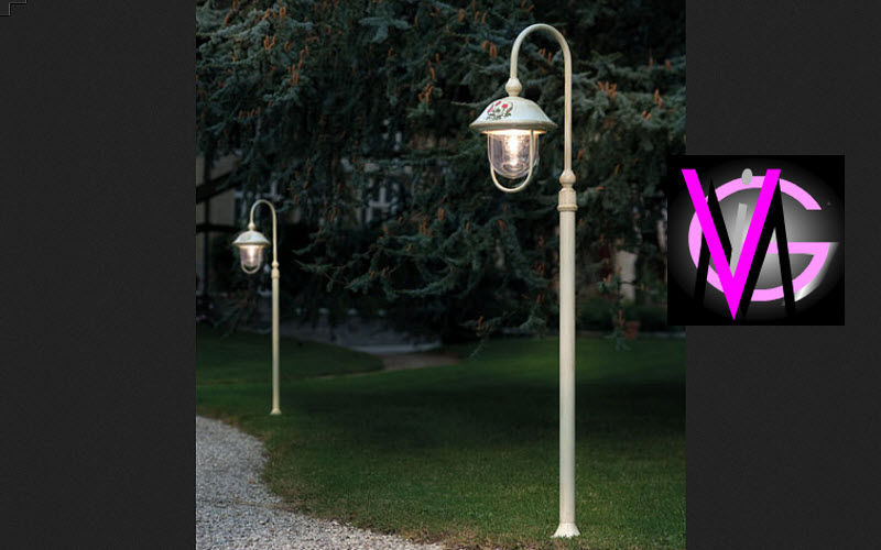 Ferroluce Farola de jardin Reverberos & farolas de exterior Iluminación Exterior Jardín-Piscina | Rústico