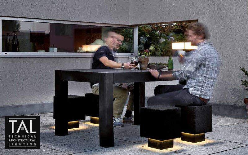 TAL Taburete para jardín Varios mobiliario de jardín Jardín Mobiliario  |