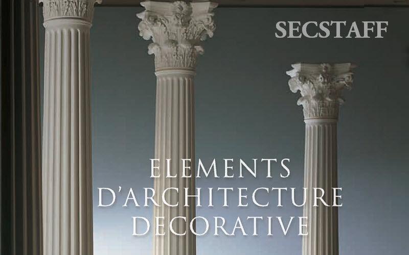 SECSTAFF Columna Piezas y/o elementos arquitectónicos Ornamentos  |