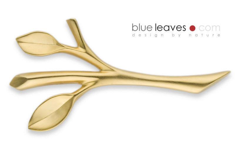 Blue Leaves Portacuchillos Cuchillos Cubertería  |