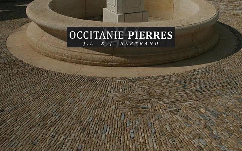 Occitanie Pierres Adobe Suelos de exterior Suelos Terraza | Rústico