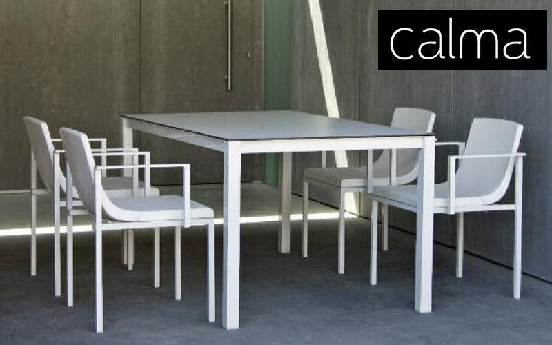 CALMA Comedor de exterior Mesas de jardín Jardín Mobiliario Terraza | Design Contemporáneo