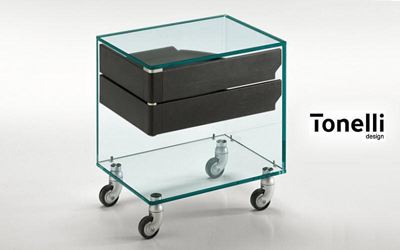 Tonelli Cajonera con ruedas Armarios y almacenamiento Despacho  | Design Contemporáneo
