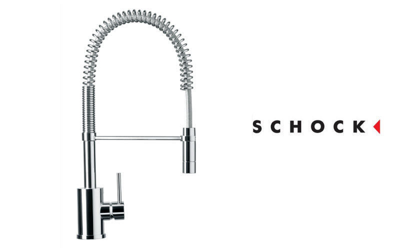 Schock Mezclador de fregadero con ducha Grifería de cocina Equipo de la cocina   |