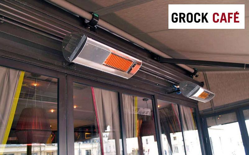GROCK CAFE Caleffación eléctrica para terraza Calefacción de exterior Jardín Diverso  |