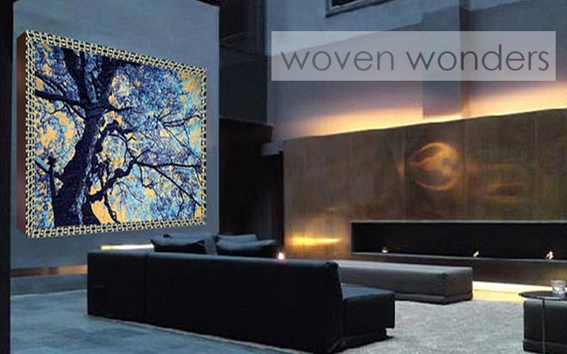 Woven Wonders Tapiz contemporáneo Tapices Alfombras Tapices  |