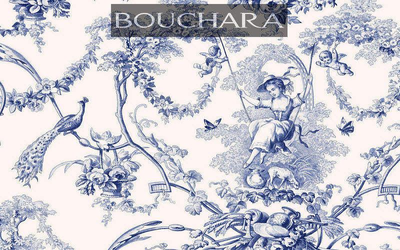 Bouchara Tela de Jouy Telas decorativas Tejidos Cortinas Pasamanería  |