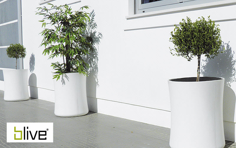BLIVE Maceta para árbol Macetas Jardín Jardineras Macetas  |