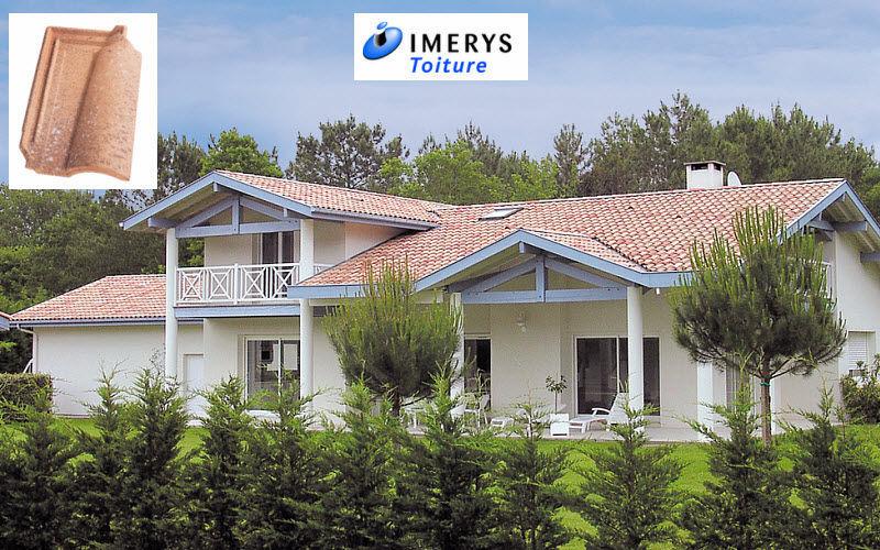Imerys Toiture Teja canal Fachada y tejado Jardín Cobertizos Verjas...  |