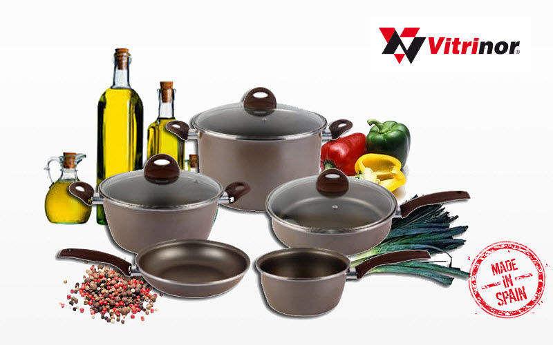 VITRINOR Batería de cocina Cacerolas Cocción  |