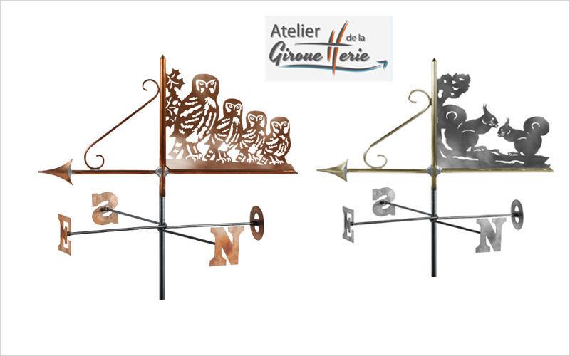 Atelier De La Girouetterie Veleta Ornamentos de exterior Jardín Diverso  |