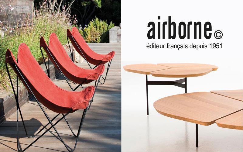 Airborne Sillón de jardín Sillones de exterior Jardín Mobiliario  |