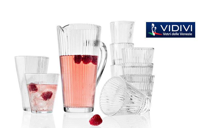 VIDIVI Vetri delle Venezie Servicio de refrescos Juegos de cristal (copas & vasos) Cristalería   