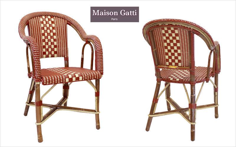 Maison Gatti Sillón de terraza Sillones de exterior Jardín Mobiliario  |
