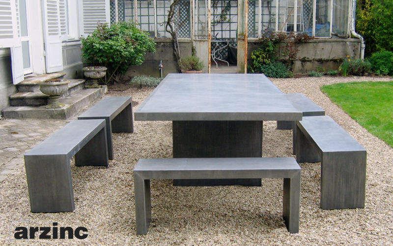 Arzinc Mesa de jardín Mesas de jardín Jardín Mobiliario  |