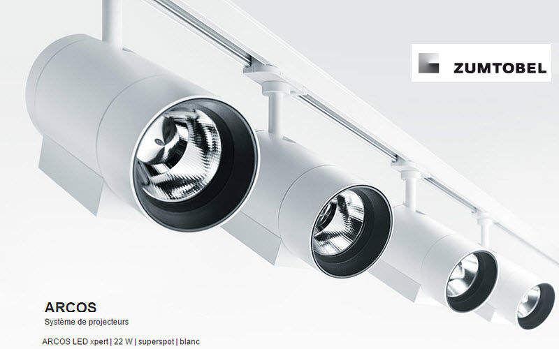 Zumtobel Licht Proyector Puntos de luz Iluminación Interior  |