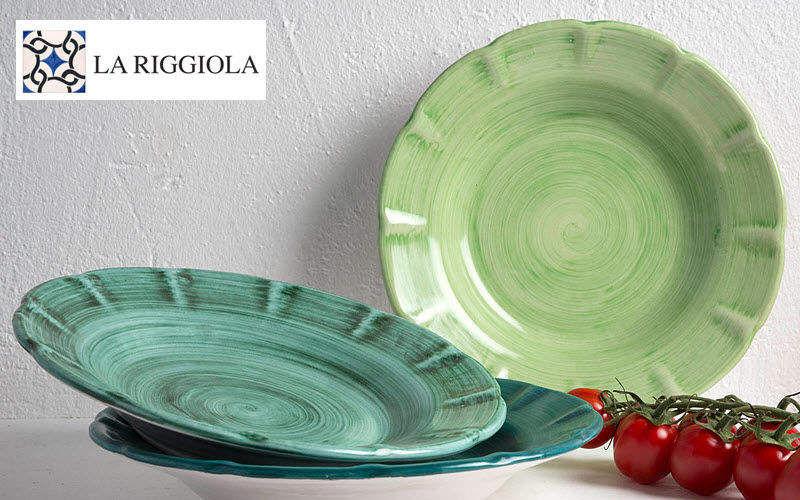 LA RIGGIOLA Plato hondo Presenta-platos Vajilla  |