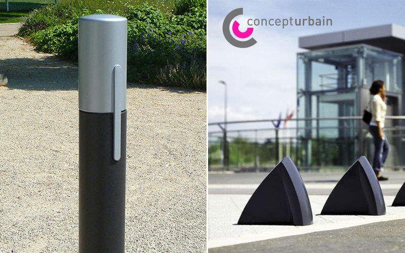 Concept Urbain Mojón antiestacionamiento Mobiliario urbano Jardín Diverso  |