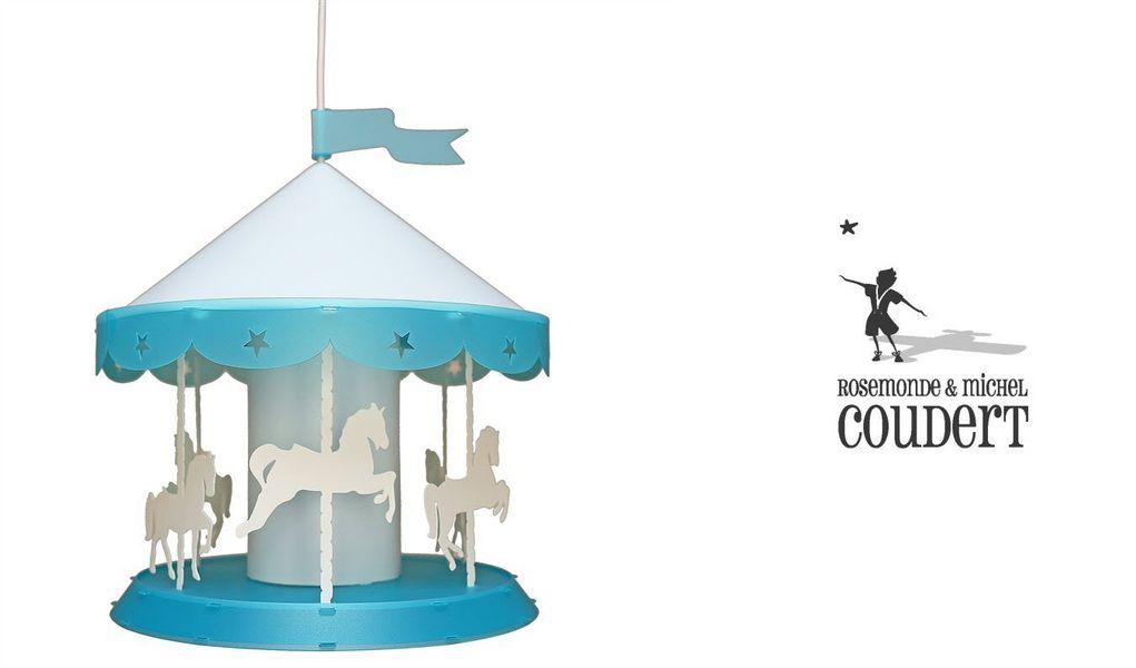 Rosemonde et michel  COUDERT Lámpara colgante para niño Iluminación infantil El mundo del niño  |